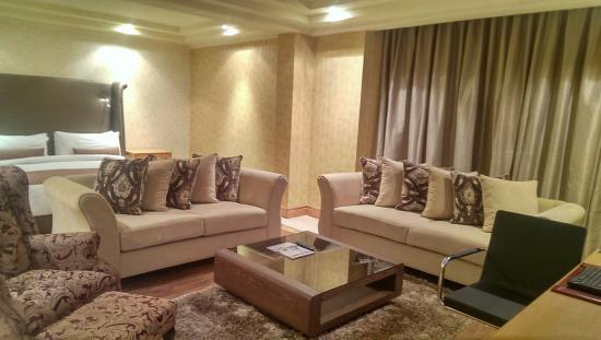 Victoria Crown Plaza Hotel: Studio Suite