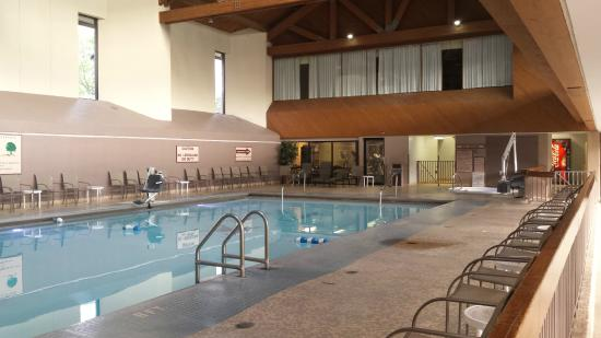 Indoor Pool Picture Of Deer Creek Lodge And Conference