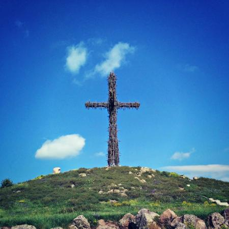 Holy Cross near Artashavan and near the Armenian Alphabet Monument