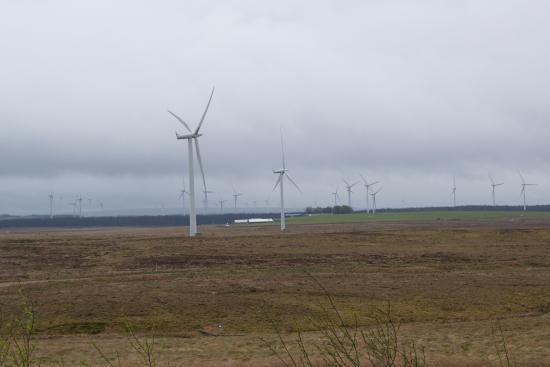 Whitelee Wind Farm Visitor Centre: Windfarm 3
