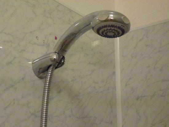 Rufus House: Poor shower