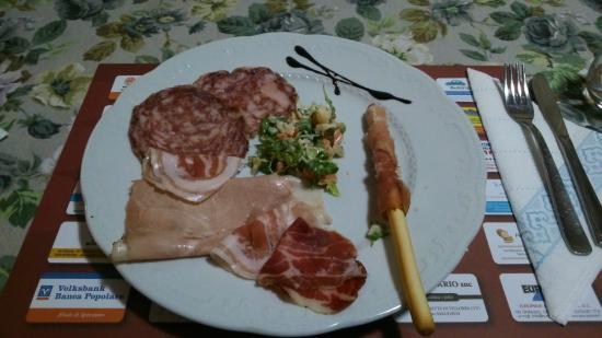 I Carrettieri Del Piave: Piatto affettato