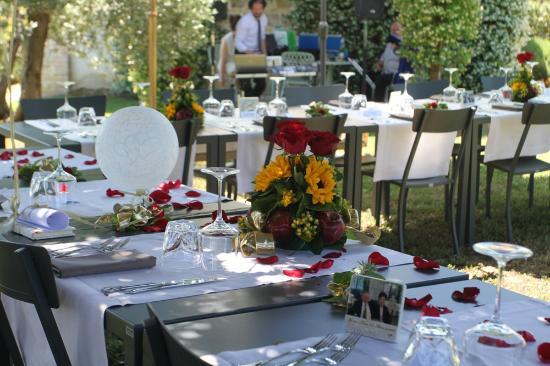 Anniversario Di Matrimonio Toscana.Giardino Ristorante Evento 50 Anniversario Matrimonio Foto Di
