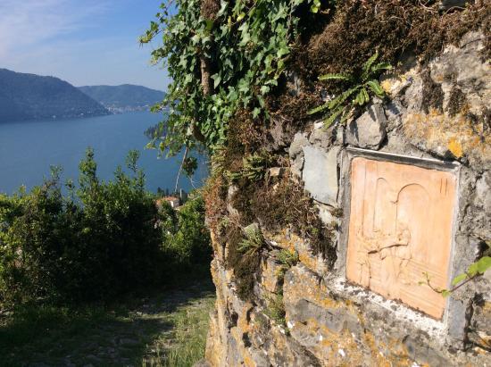 Rifugio Bugone: Walking up Via Crucis