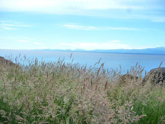 Helliwell Provincial Park: panoramic view.