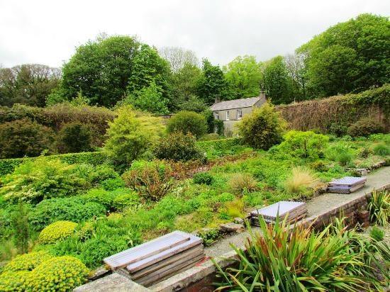 Cally Gardens: Part of the walled garden