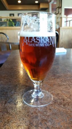 Sizzlin' Cafe: Amber deaft beer
