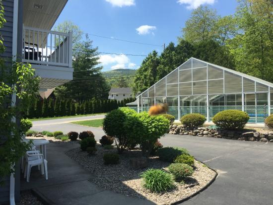Americas Best Value Inn & Suites Lake George: Pool Area