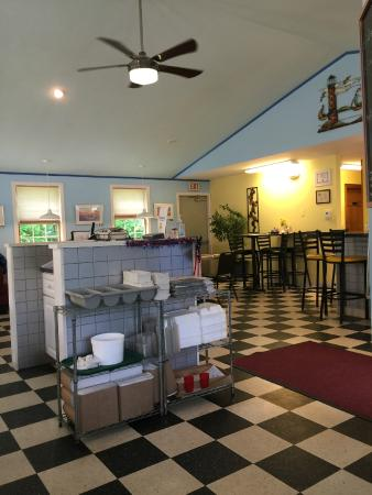 Rockport Diner Family Restaurant: Interior of Diner