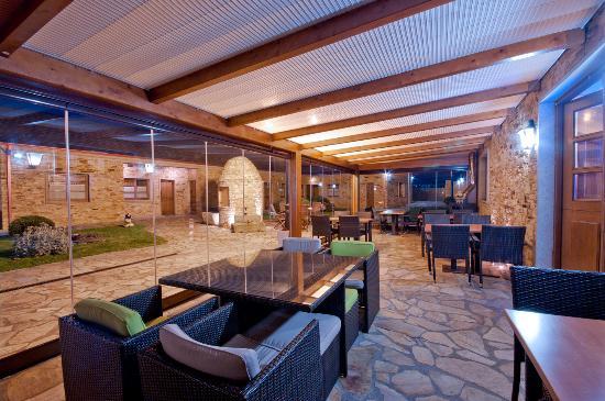 El Rincon de Anita Casa Rural: Terraza acristalada