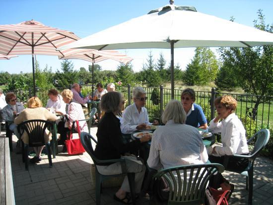Duke Of Marysburgh Pub: lunch on the patio
