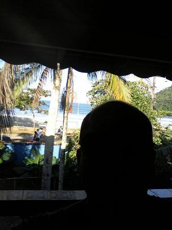 Golfinho Tropical : varanda do quarto