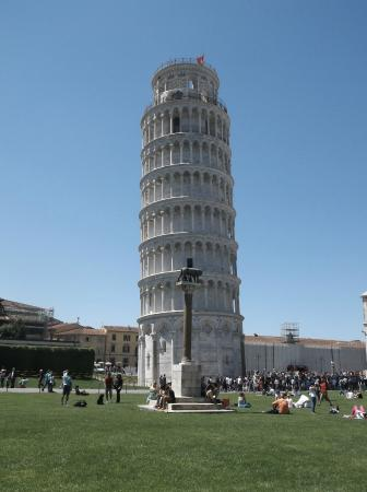 Grand Hotel Golf: Leaning Tower of Pisa (about 30 mins) drive