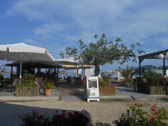 Vournelis Beach Hotel & Spa: The beach bar
