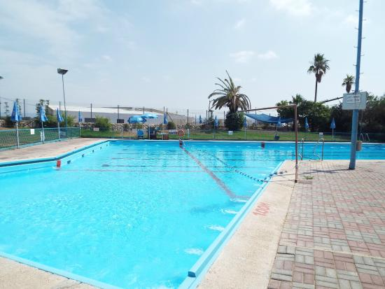 Nes Ammim, อิสราเอล: Красивый бассейн