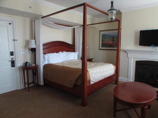 The George Washington A Wyndham Grand Hotel : our room
