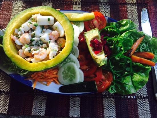 Le Jardin de Giancarlo: Seafood salad
