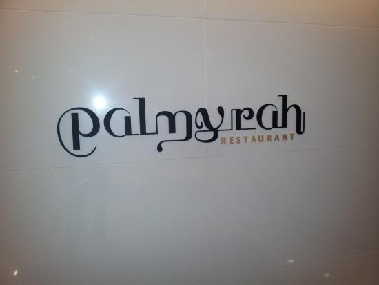 Palmyrah Restaurant: Name