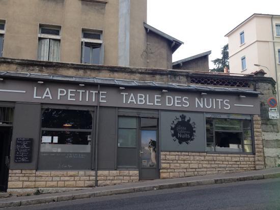 La Petite Table Des Nuits Lyon Restaurant Reviews Phone Number