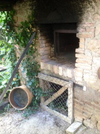 Villa Vallerosa: Pizzaoven