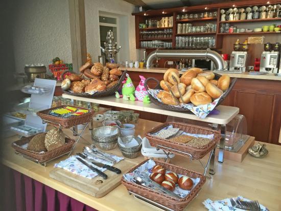 Gasthof Goldener Löwe: Frühstücksbüffet Goldener Löwe Bayreuth