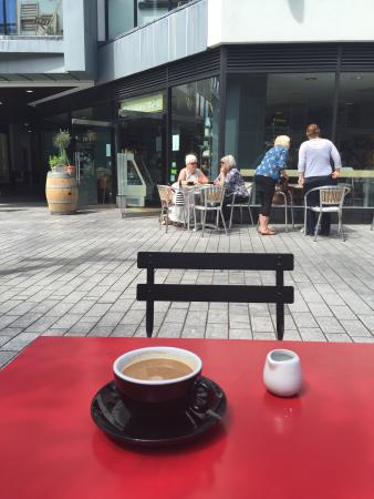 Chandos Deli: A good spot to watch the world go by ...