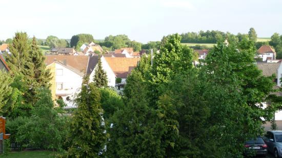 Steinheim, Niemcy: Blick aus dem Zimmer