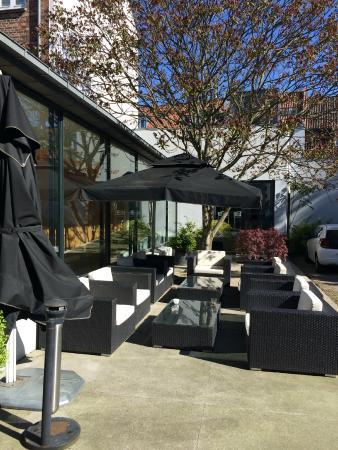 Hotel Oasia Aarhus: Lækker lille gårdhave ...
