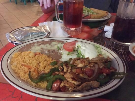 Very large menu review of viva mexico inwood wv for Zetts fish farm