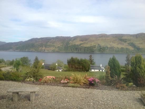 The Sithean: The garden, loch carron and beyond...