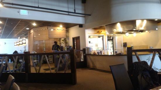 Kawa Japanese Restaurant: Kawa Korean grill cooking station
