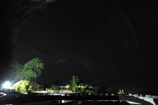 Kingfisher Lodge Kichwamba : 満天の星空のした