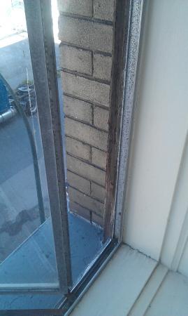 Patricia Hotel: ventana