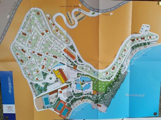 Map Candia Park Picture Of Candia Park Village Agios Nikolaos