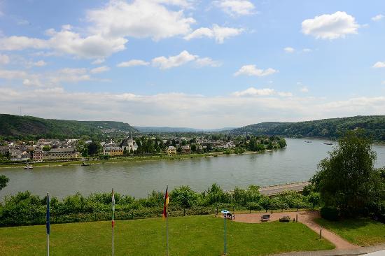 Ringhotel Haus Oberwinter: Aussicht auf den Rhein