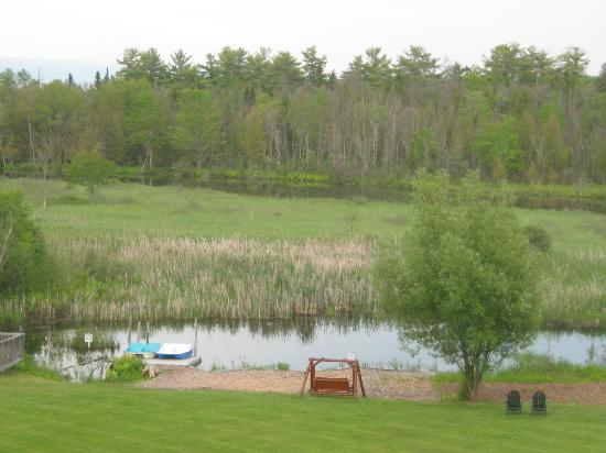 Crooked River Lodge: view in the back yard of the lodge