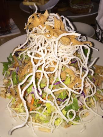 The Cheesecake Factory : Asian Chicken Salad...very tasty.