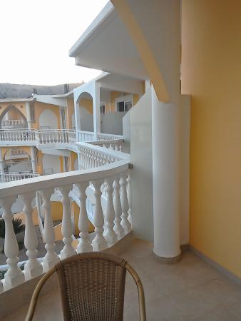 Cosmos Maris: View across the balcony