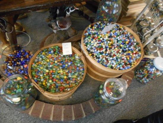 York, NE: Over one million antique marbles on display!