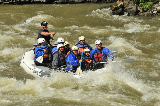 Geyser Whitewater Expeditions: Three generations of whitewater survivors!