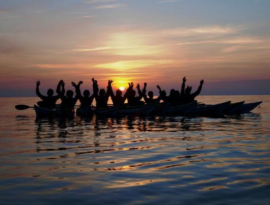 Adventurous Experiences: Corporate Evening Paddle
