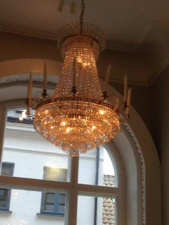 Matsalen - Grand Hotel Lund : lampa
