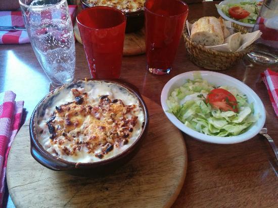 La cocote de la cigogne et ça salade