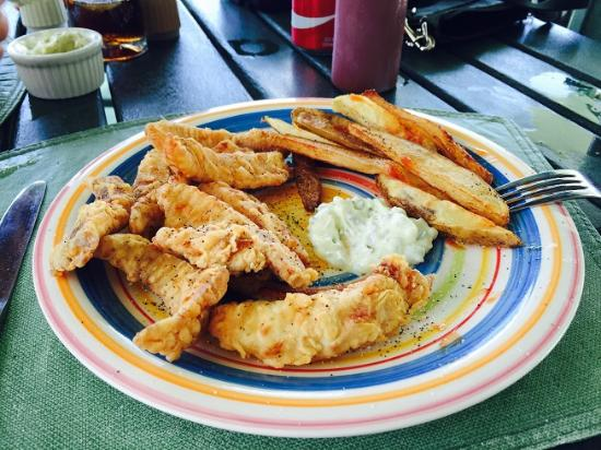 Coral Reef Bar and Grill: Mmmm!   Mmmm!  Snapper for the belly!
