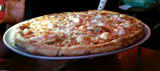 Mystic Pizza II: Seafood Delight Pizza.  The best!