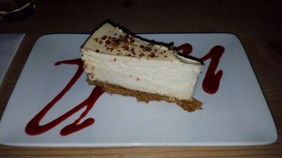 The Admiral Rodney at Berrow Green: Peanut Butter Cheesecake