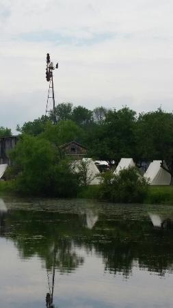 Old Bedford Village: Civil War reinactment