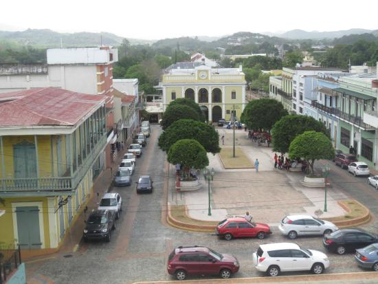 San German: View of the historic downtown.