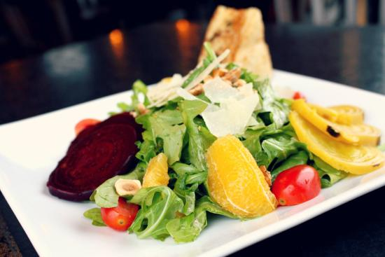 Roasted beet salad picture of americana restaurant and for Americana cuisine