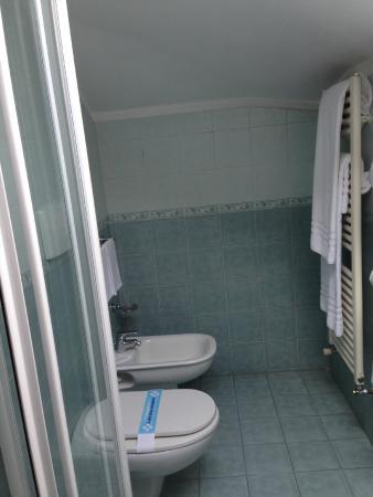 Hotel Visconti: il bagno